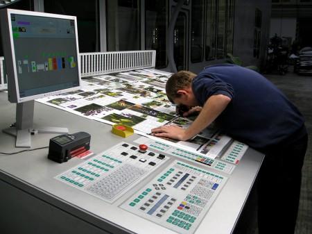 Punktzuwachs und Farbauftrag werden geprüft