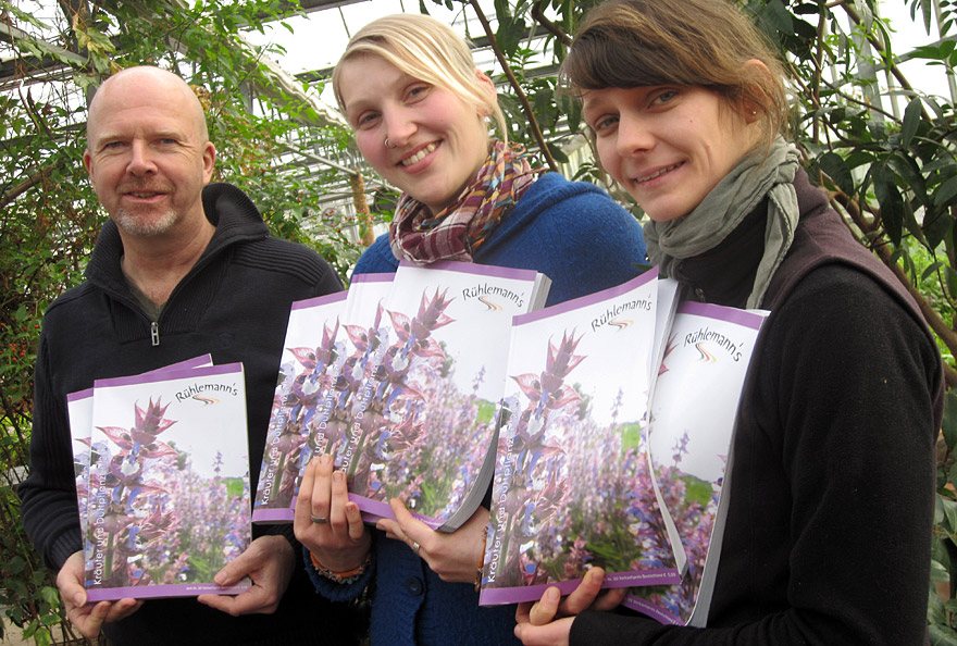 Daniel Rühlemann, Nina Meyer und Angelika Schröter